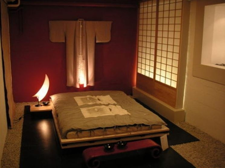 Arredamento camera da letto arredare la casa arredare for Arredamento stile giapponese
