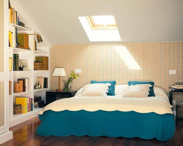 Arredare camerette in mansarda arredare la casa camere for Camera da letto e studio