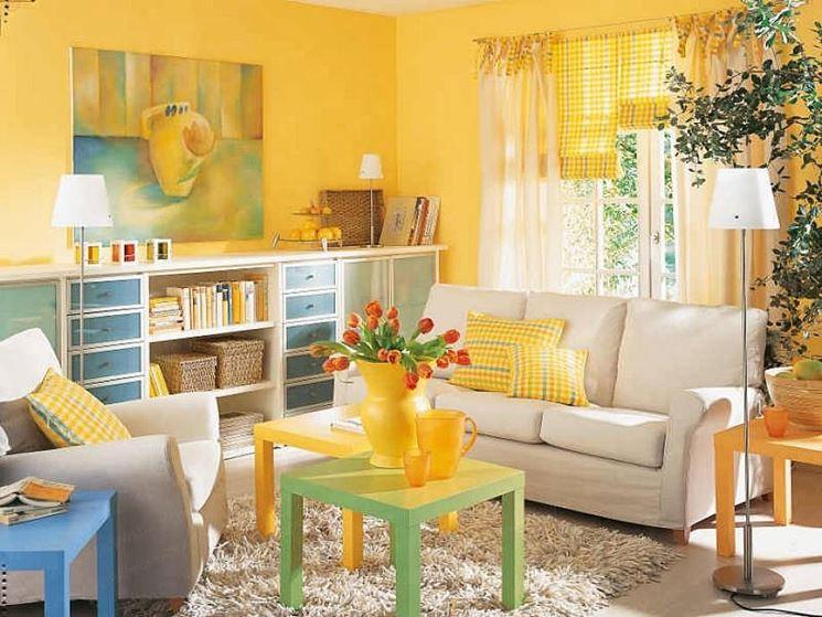 salone giallo
