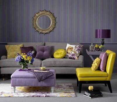 Pareti Grigio E Glicine: Come scegliere il colore delle pareti della ...