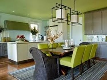 casa pulita, sala da pranzo pulita