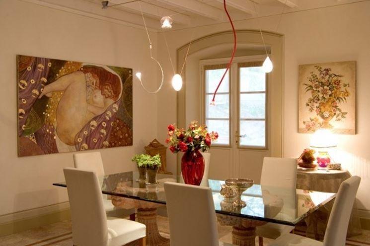 oggetti sala da pranzo, decorazioni sala da pranzo