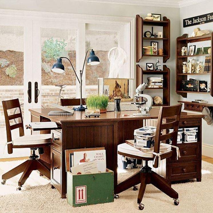 Arredare lo studio in casa arredare la casa consigli - Arredamento studio casa ...