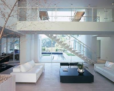 Arredare un open space arredare la casa arredamento for Casa moderna bianca