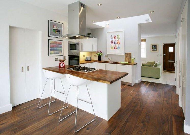 arredare una casa piccola - arredare la casa - arredare una ... - Ambiente Unico Cucina Soggiorno Casa