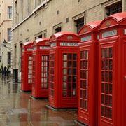 Le cabine telefoniche di Londra sono parte integrante dell'arredo urbano