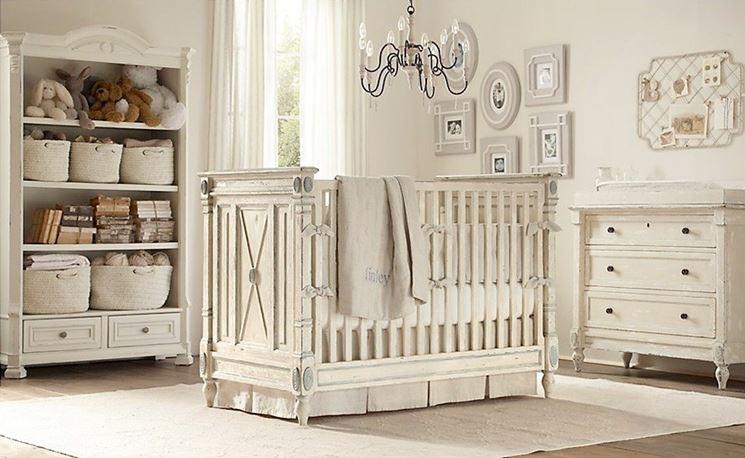 Esempio cameretta per neonato
