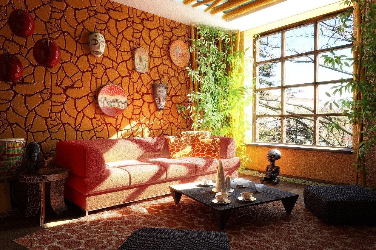 Caratteristiche dello stile etnico arredare la casa for Arredamento particolare per la casa