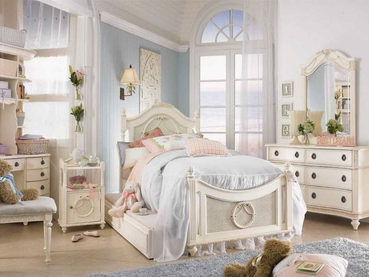 Fabulous Girls White Twin Bedroom Set