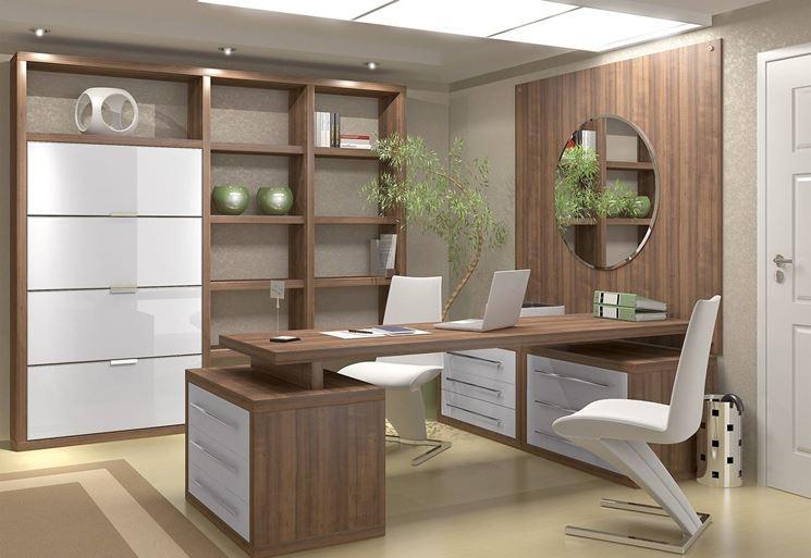 Ufficio in casa ecologico in legno