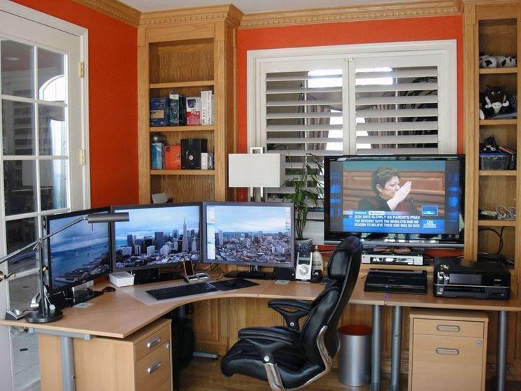 Zona ufficio da lavoro