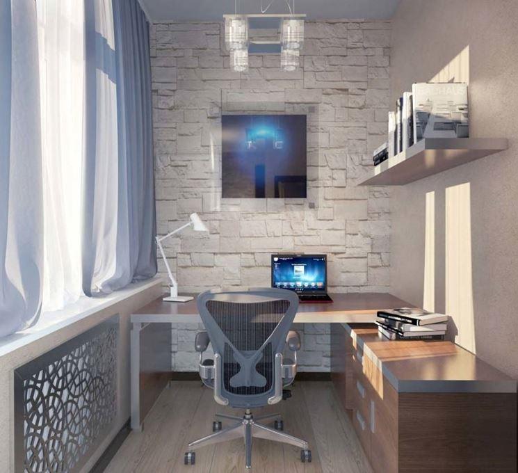 Ufficio in stile moderno-futuristico