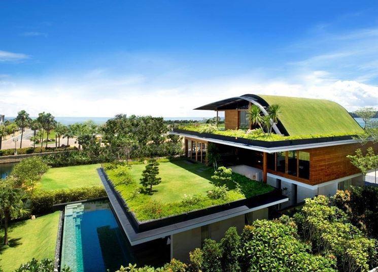 Casa con giardini pensili (www.archello.com)