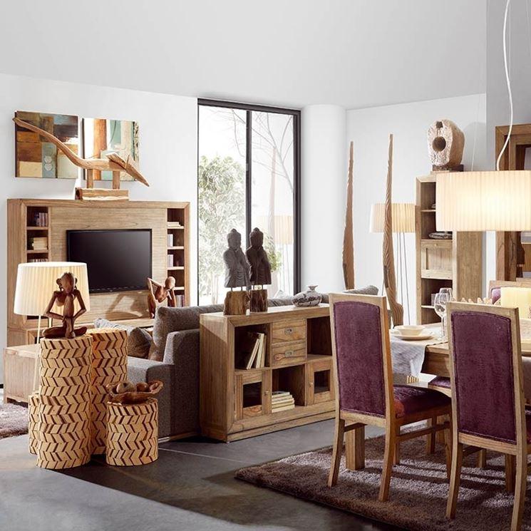 Mobili etnici - Arredare la casa - Arredare con i mobili etnici