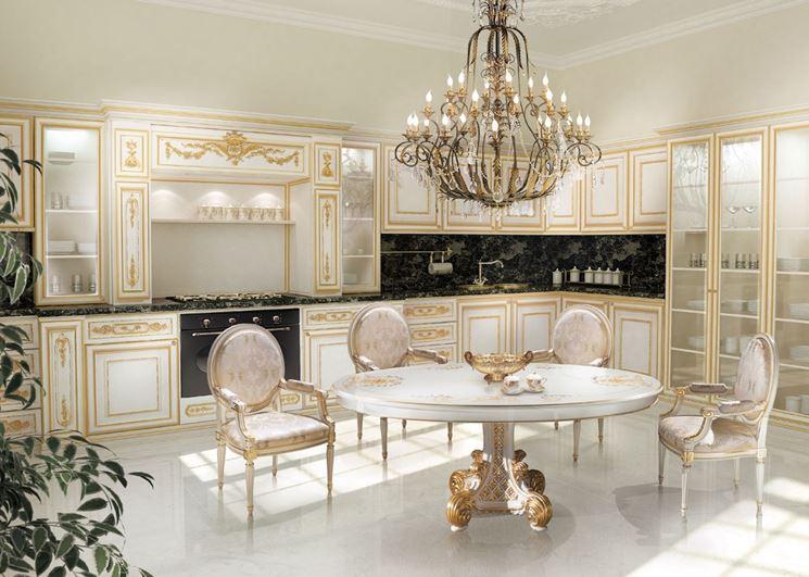Scegliere arredamento barocco arredare la casa arredi - Cucina stile barocco ...