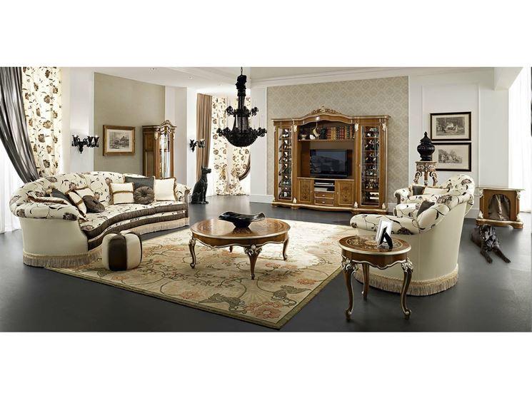 Scegliere arredamento barocco arredare la casa arredi stile barocco - La casa arredamento ...