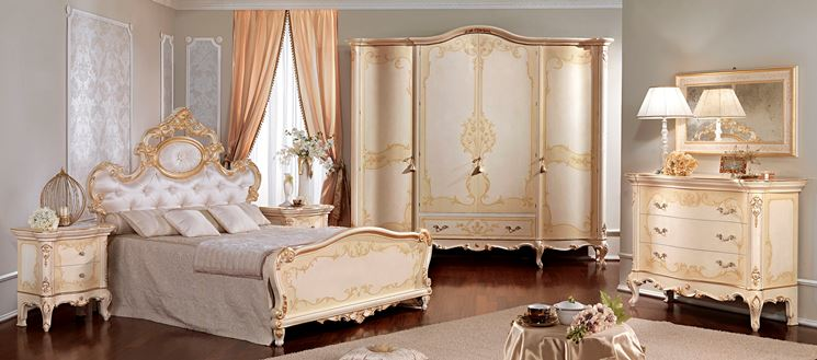 Scegliere arredamento barocco arredare la casa arredi - Camere da letto stile barocco ...