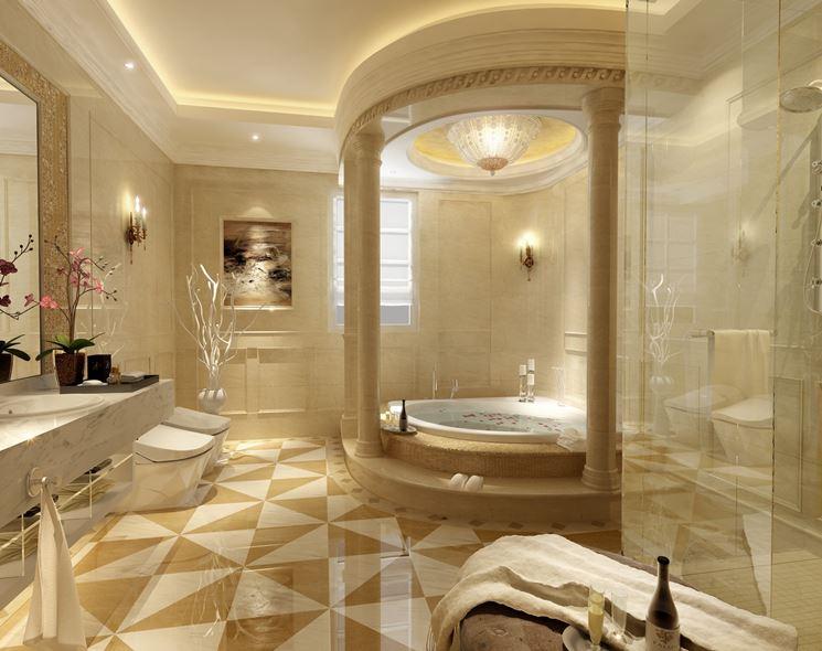 Bagni Di Lusso Foto : Bagni in marmo di lusso bagno con pavimenti e in mosaico idee