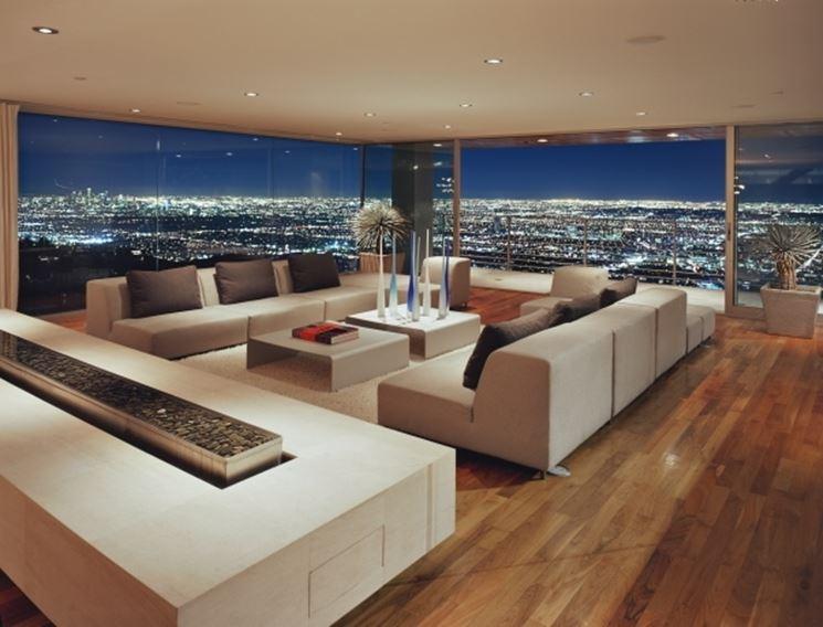 Esempio di casa di lusso - California