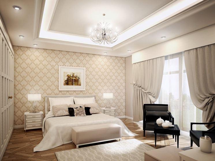 Camera matrimoniale cura dei mobili arredamento per la for Illuminazione camera da letto matrimoniale