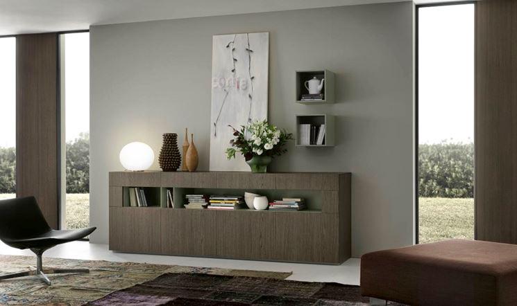 Caratteristiche delle madie moderne cura dei mobili madie moderne - Mobili da corridoio ...