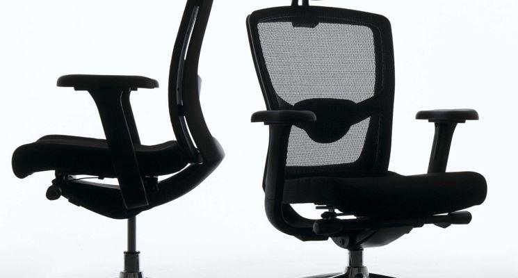 Una sedia ergonomica