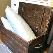 cassapanca in legno casa