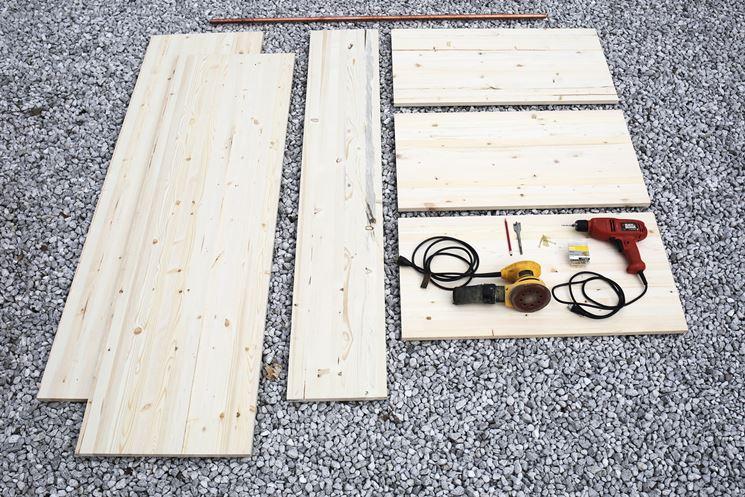 Come costruire un armadio a muro cura dei mobili come - Costruire un mobile in legno ...