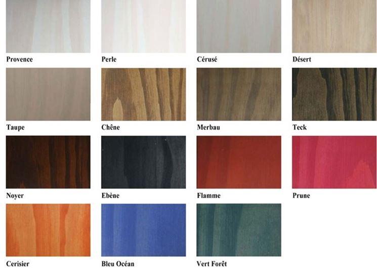 Come fare il restauro infissi cura dei mobili - Vernis bois couleur ...
