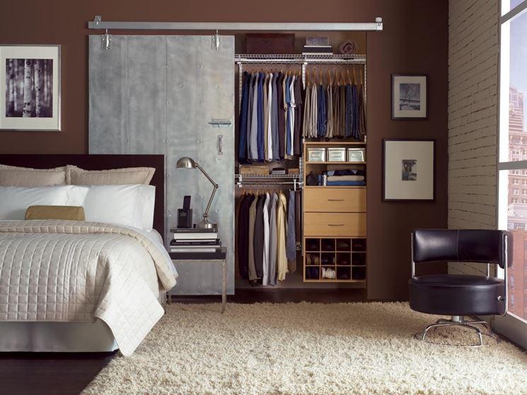 Cabina Armadio Tenda : Tende per cabina armadio. perfect tende per camera da letto ikea