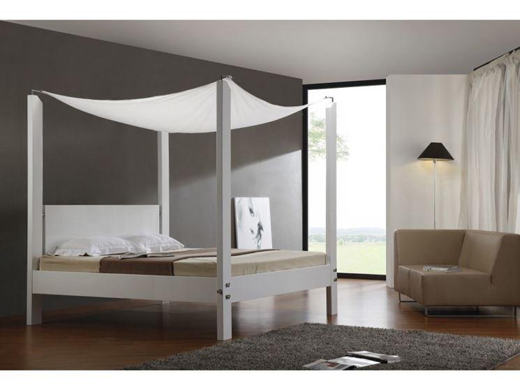 Letti a baldacchino cura dei mobili letti a - Letto baldacchino moderno ...