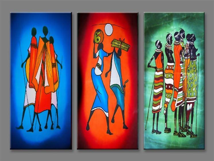 quadri etnici stile Africa