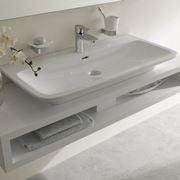 Mobile per lavabo in legno chiaro