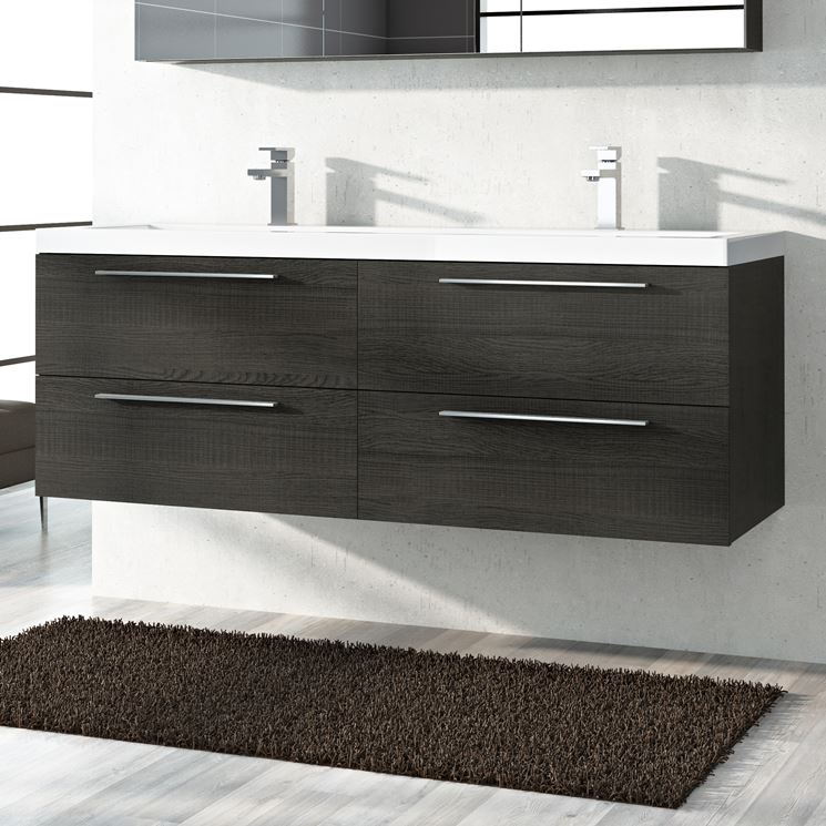 Mobili bagno doppio lavabo ikea design casa creativa e - Mobile lavabo ikea ...