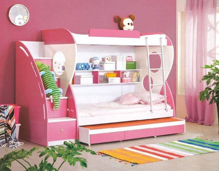 Modelli di camerette per bambini cura dei mobili tanti for Stylish children s furniture