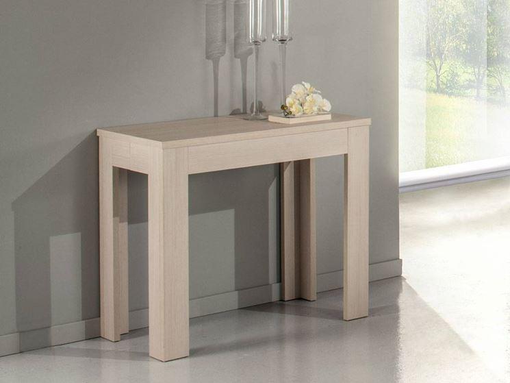 Modelli di consolle allungabili cura dei mobili caratteristiche e differenze delle consolle - Tavolo consolle riflessi p300 prezzo ...