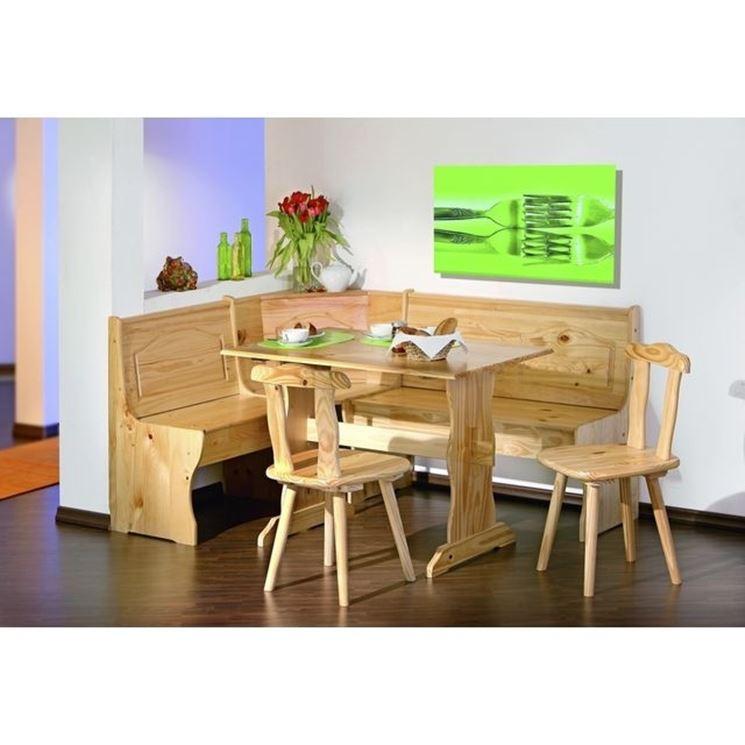 Modelli di panca contenitore cura dei mobili panche - Panche in legno per cucina ...