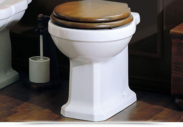 Sedile wc in legno