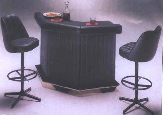 Realizzare un angolo bar in casa cura dei mobili - Mobile bar taverna ...