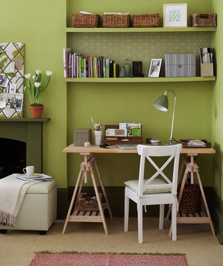 realizzare un angolo studio in soggiorno - cura dei mobili ... - Zona Studio In Soggiorno