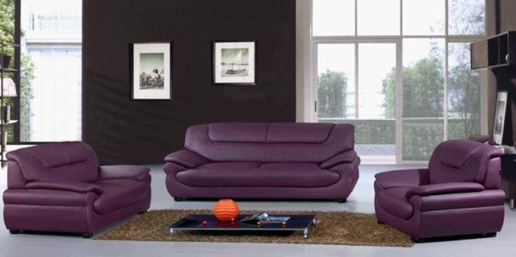 divani moderni in pelle