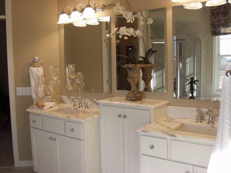 Mobili bagno stile classico great specchio bagno stile barocco specchi da terra stile classico - Mobili da bagno stile barocco ...
