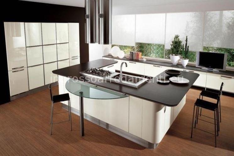 Scelta della cucina a penisola cura dei mobili scelta - Aspira odori cucina ...