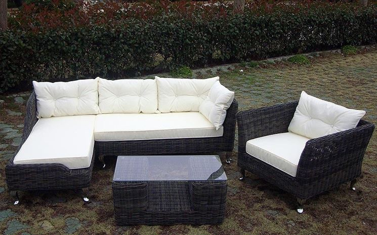Come scegliere un divano da giardino il divano divano da giardino - Divano da giardino ...