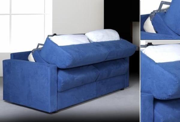 Cosa sono i divani trasformabili il divano divani - Divano letto blu ...