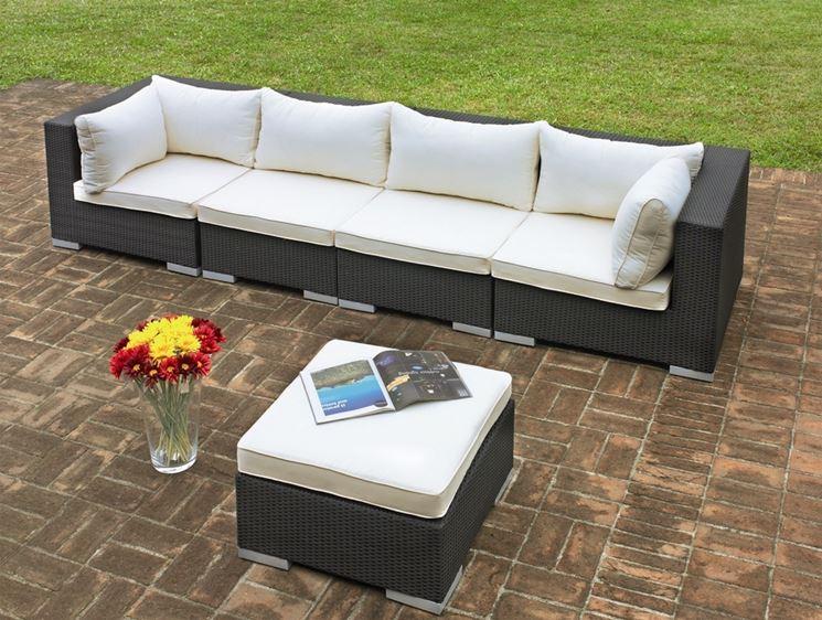 Divani da giardino modelli e prezzi il divano arredo giardino divani - Divano da giardino ...