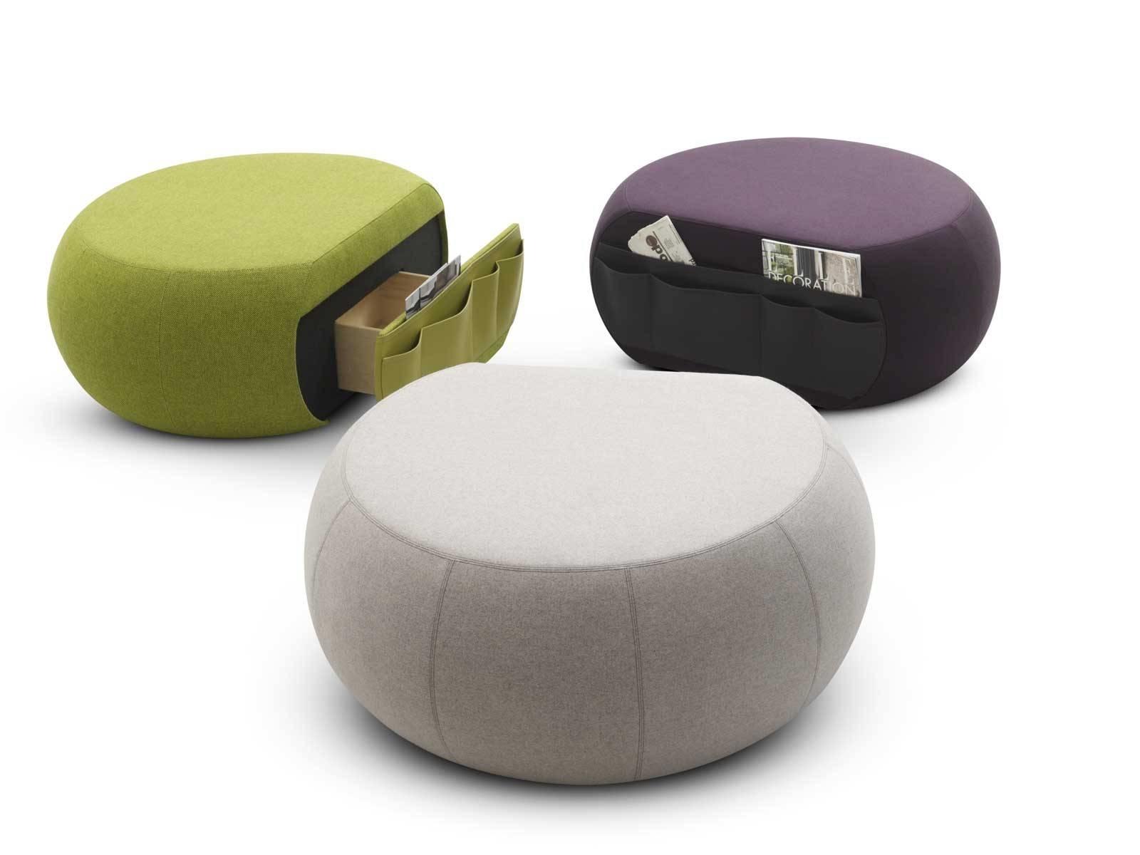 arredamento pouf utilizzare il pouf come contenitore il divano