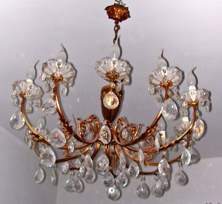 Caratteristiche del lampadario a gocce - Lampade e lampadine - Tipologie e differenze dei ...