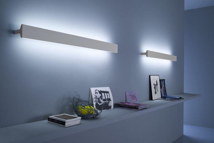 Esempio di lampada da muro
