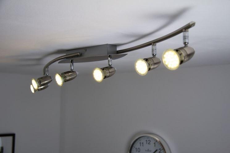 Modelli di lampadari a led lampade e lampadine for Lampadari con led